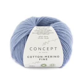 Katia Cotton Merino Fine 94 Lichtblauw