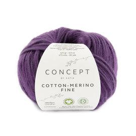 Katia Cotton Merino Fine 96 Aubergine
