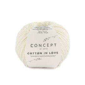 Katia Cotton in Love 50 Ecru