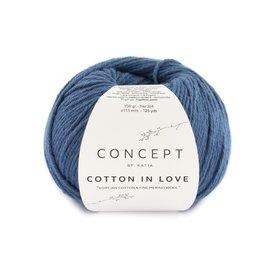 Katia Cotton in Love 63 Blauw