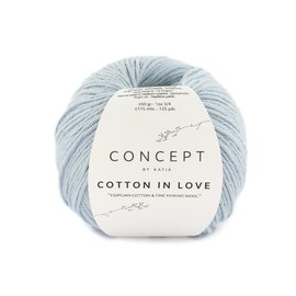 Katia Cotton in Love 65 Hemelsblauw