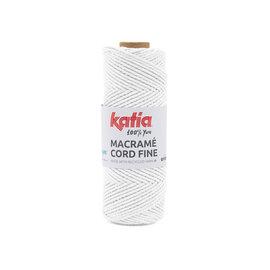 Katia Macramé Cord Fine 200 Wit