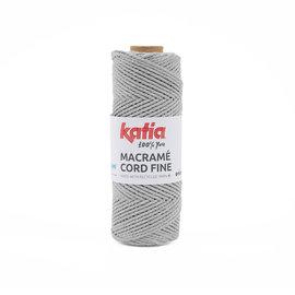 Katia Macramé Cord Fine 201 Lichtgrijs