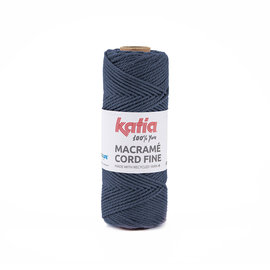 Katia Macramé Cord Fine 203 Jeans
