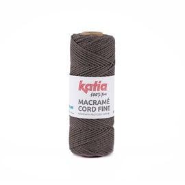 Katia Macramé Cord Fine 204 Bleekbruin