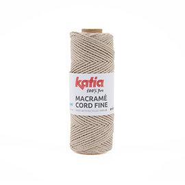 Katia Macramé Cord Fine 205 Beige