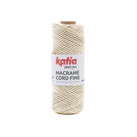 Katia Macramé Cord Fine 206 Ecru