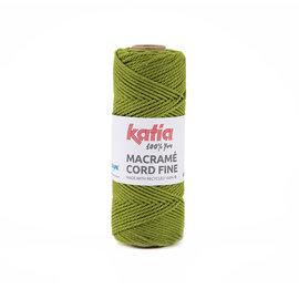 Katia Macramé Cord Fine 207 Grasgroen