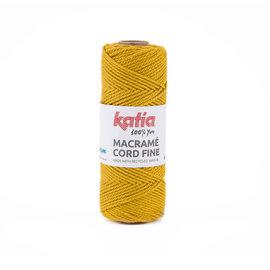 Katia Macramé Cord Fine 208 Okergeel