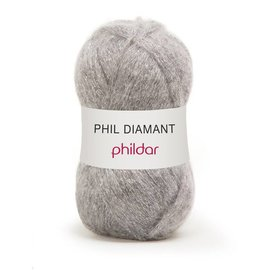 Phildar Phil Diamant 01 Argent