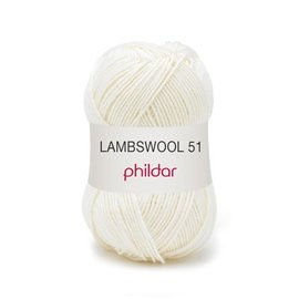Phildar Lambswool 51 32 Ecru