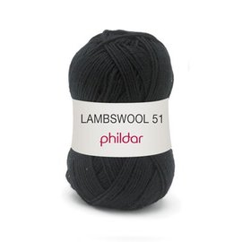 Phildar Lambswool 51 67 Noir