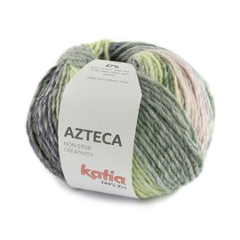 Katia Azteca 7879 Smaragdgroen-Paars