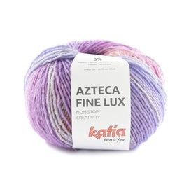 Katia Azteca Fine Lux 412 Roos-Lichtoranje-Turquoise