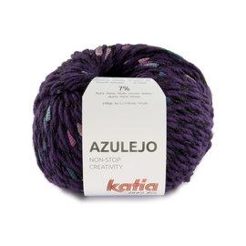 Katia Azulejo 401 Lila-Roos-Hemelsblauw