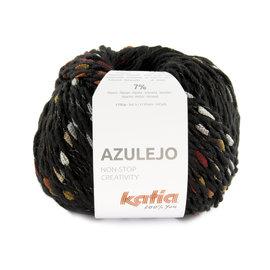 Katia Azulejo 402 Zwart-Beige-Oranje