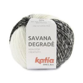 Katia Savana Dégradé 100 Wit-Grijs-Zwart