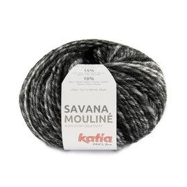Katia Savana Mouliné 200 Wit-Grijs-Zwart