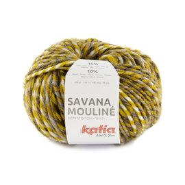 Katia Savana Mouliné 203 Oker-Bruin-Grijs