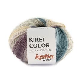 Katia Kirei Color 302 Groenblauw-Lichtroze-Lichtlila