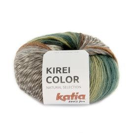 Katia Kirei Color 303 Bleekgroen-Bruin-Waterblauw