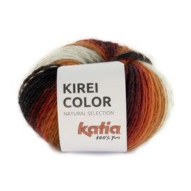 Katia Kirei Color 306 Rood-Camel-Zwart