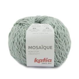 Katia Mosaïque 202 Lichtblauw-Zilver