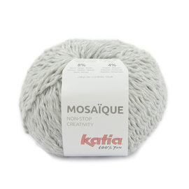 Katia Mosaïque 204 Lichtgrijs-Zilver