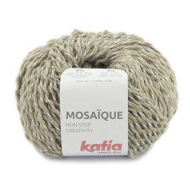 Katia Mosaïque 205 Beige-Zilver