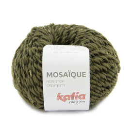 Katia Mosaïque 209 Kaki-Goud