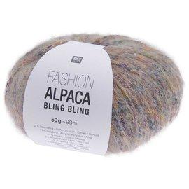 Rico Fashion Alpaca Bling Bling 002 Lila