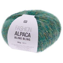 Rico Fashion Alpaca Bling Bling 004 Groen