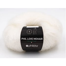 Phildar Phil Love Mohair Craie
