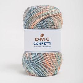 DMC Confetti 551 Blauw-Oker