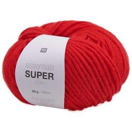 Rico Super Aran 6 Red