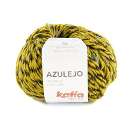 Katia Azulejo 405 Oker-Groenblauw-Camel