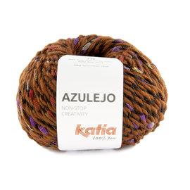 Katia Azulejo 406  Roodbruin-Parelmoer-lichtviolet-Rood