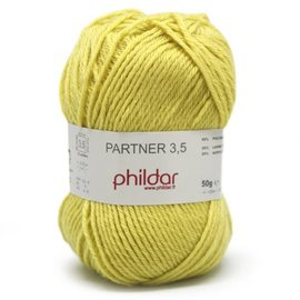 Phildar Partner 3,5 Wol 0208 Soufre