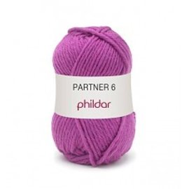 Phildar Partner 6 wol 0021 Fuchsia