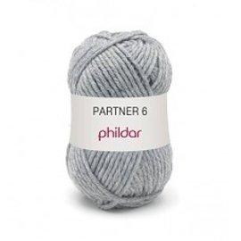 Phildar Partner 6 wol 0028 Acier