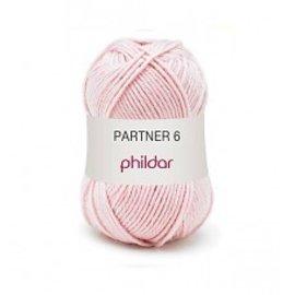 Phildar Partner 6 wol 0204 Rose