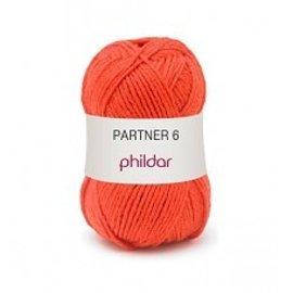 Phildar Partner 6 Vermillon