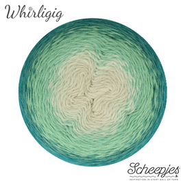 Scheepjes Whirligig 205 Teal to Ombré