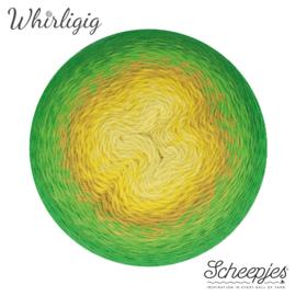Scheepjes Whirligig 206 Green to Ochre