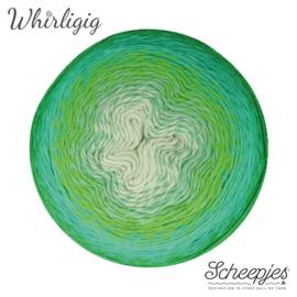 Scheepjes Whirligig 207 Green to Blue