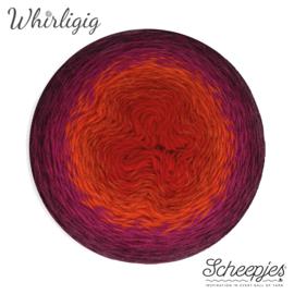 Scheepjes Whirligig 209 Plum to Red