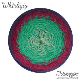Scheepjes Whirligig 214 Sapphire to Jade
