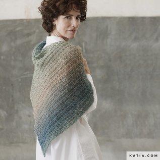 Katia Breipatroon Somnium Sjaal in Ajoursteek