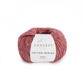 Katia Cotton Merino 125 Wijnrood