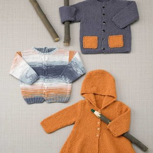 Katia Peques Plus 61 - Verloopgaren - Blauw/Oranje/Grijs